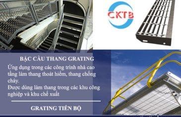 Bậc cầu thang Grating bằng thép